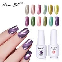 <b>Гель</b>-<b>лак для ногтей</b> Beau <b>Gel</b> 8 мл, Нефритовый кошачий глаз ...