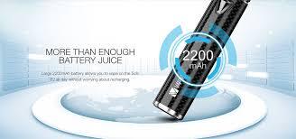 2200mAh Vape Kit <b>Vaptio Solo</b> F2 Electronic Cigarette Kit Output ...