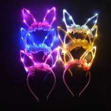 <b>led</b> ears rabbit
