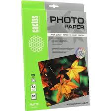 <b>Cactus CS</b>-<b>MA419050</b> (<b>A4</b>, 50 листов, 190 г / м2) бумага матовая