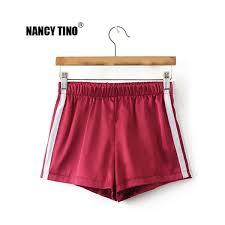 2019 <b>NANCY TINO</b> Women Athletic Shorts High Waisted Shorts ...