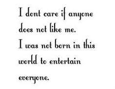 Don't care what people think about me! :) on Pinterest | About You ...
