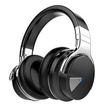 ideausa v201 over ear active noise cancelling wireless bluetooth headphone with microphone apt x up to 25 hours playback