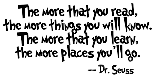 Image result for doctor seuss quotes about education
