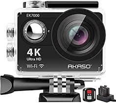 AKASO EK7000 <b>4K WIFI Sports Action</b> Camera Ultra HD 12MP ...