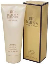 <b>Elizabeth Taylor White Diamonds</b> Body Lotion, 6.8 Oz/ 200 Ml ...