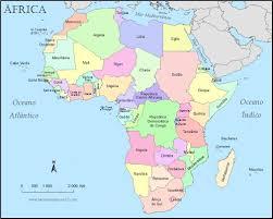 Fontes de Geografia: Mapa Político da África Mapa Político África