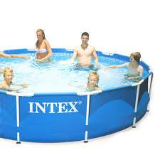 Каталог <b>Каркасный бассейн INTEX</b> 28210 Metal Frame 366x76 см ...