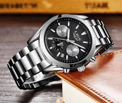 <b>Lige Watches</b> - <b>Men's Lige</b> Wrist <b>Watch</b> In Bangladesh - Daraz.com.bd