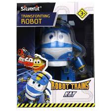 Купить <b>трансформер Silverlit Robot Trains Трансформер</b> Сэлли ...