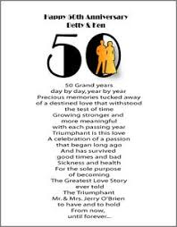 50th anniversary on Pinterest | Anniversary Poems, 50s Wedding and ...