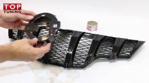 Решетка радиатора Black Edition Tech Design Тюнинг <b>Nissan X</b> ...