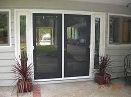 french doors screens patio