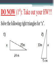 CH  Review Key   Rama     Ch   NAME DATE W PERIOD Parallel Lines     Pythagorean theorem