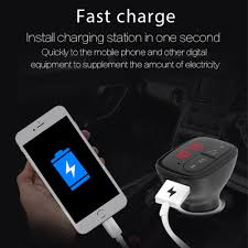 Buy <b>Wireless Bluetooth FM Transmitter</b> Car Handsfree Call Music ...