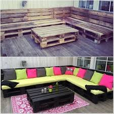 pallet furniture patio view in gallery pallet lounge 50 wonderful pallet furniture ideas and tutorials bedroomlicious patio furniture