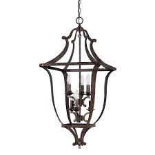 capital lighting 9182rt corday 6 light foyer pendant in rustic capital lighting soho