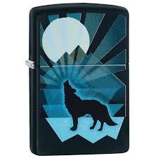 <b>Зажигалка Zippo Wolf</b> And Moon <b>Design</b>, 29864 купить в интернет ...