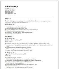 real estate agent resume real estate agent resume example  real estate broker resume example real estate broker resume