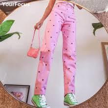 Милые kawaii детские розовые штаны с <b>сердечками</b> y2k для ...