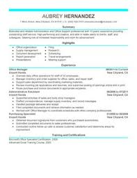 administration office support example examples of resumes for administrative positions