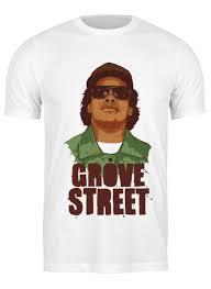 <b>Футболка классическая</b> GROVE STREET 4 LIFE #1001420 от ...