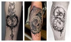 [65 Фото] Татуировка <b>Часов</b> на Руке - Символ Времени ...