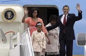 Image result for traveling obama