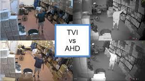 <b>TVI</b> vs AHD <b>1080p HD</b> Security Camera Comparison - YouTube