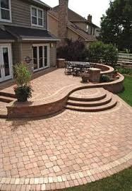 patio replace stamped jon dual level stamped concrete patio google search