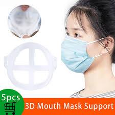 <b>5PCS 3D</b> Mouth <b>Mask</b> Support <b>Holder</b> Disposable <b>Mask</b> Inner ...