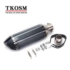 2019 TKOSM <b>Universal 36 51mm Motorcycle</b> Exhaust <b>Modified</b> ...