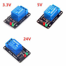 <b>2 Channel 24V</b> Relay Module Optocoupler Isolation Low <b>Level</b> ...