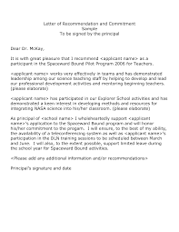 example of a good letter of recommendation recommendation letter how