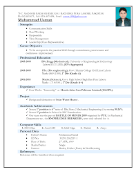 format latest resume format in word latest resume format in word image