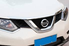 <b>Хромированная накладка на капот</b> OEM-Tuning | Nissan X-Trail ...