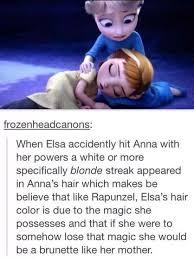 Frozen meme - Elsa's hair | Freeze, Froze, Frozen. | Pinterest ... via Relatably.com