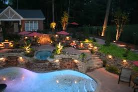 40 ultimate garden lighting ideas area lighting flower bed