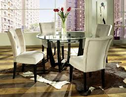 Glass Dining Room Tables Round 1000 Images About Great Style Dining Rooms On Pinterest Dinette