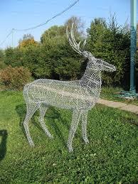 <b>Садовая фигура</b> Олень | <b>Садовая</b> скульптура искусство, Олень ...