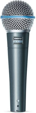 Купить <b>Микрофон SHURE Beta</b> 58A, серебристый в интернет ...