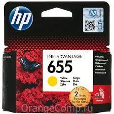 <b>Картридж HP CZ112AE №655</b>, Yellow {DeskJet IA 3525/5525/4615 ...
