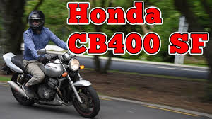 1993 <b>Honda CB400 Super Four</b>: Regular Car Reviews - YouTube