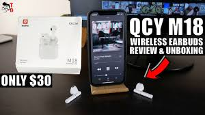 QCY <b>M18</b> REVIEW: Good Budget <b>TWS</b> Earbuds For 2021! - YouTube