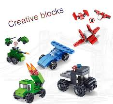 <b>2019 Hot Building Blocks</b> Three Changes Diy Toy Combination ...