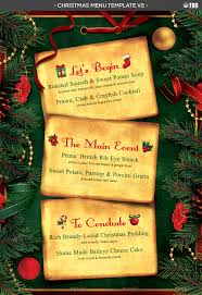 christmas menu template v by lou graphicriver menu template v2 jpg