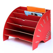 office paper holder. wooden data frame a4 document tray diy desktop holder file paper assemble oneself office