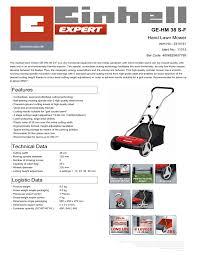 <b>EINHELL</b> GE-<b>HM</b> 38 S-F User manual   Manualzz