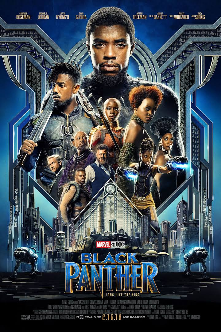 Download Black Panther (2018) Full Movie In Hindi-English (Dual Audio) Bluray 480p [560MB] | 720p [750MB] | 1080p [2.5GB]