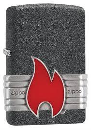 <b>Зажигалка Zippo Classic</b> с покрытием Iron Stone™, 29663 на ...
